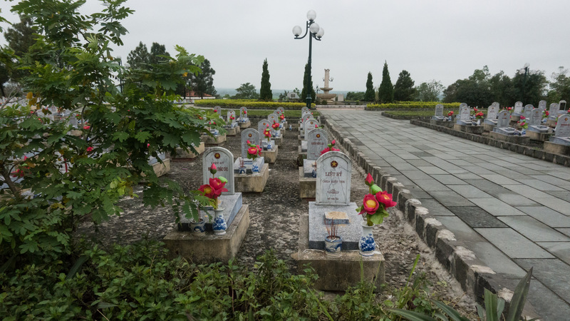 cemetery for North Vietnamese troops