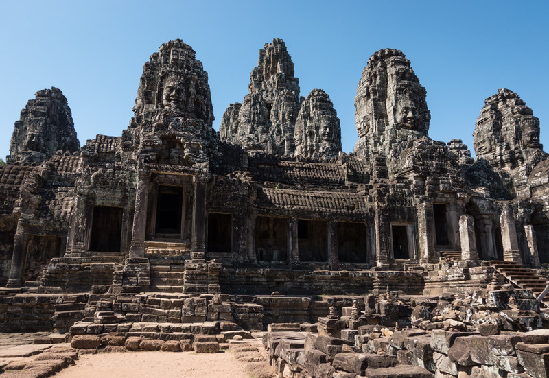 Bayon, seen from outside the complex