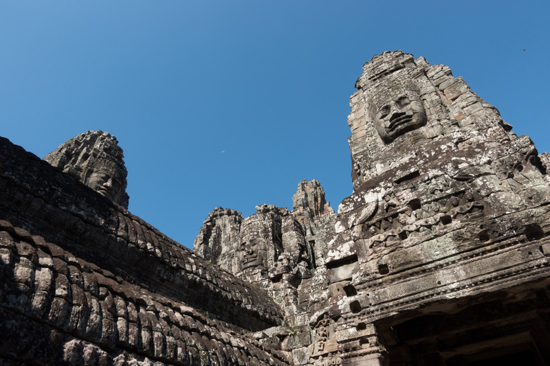 roof line of Bayon, 1