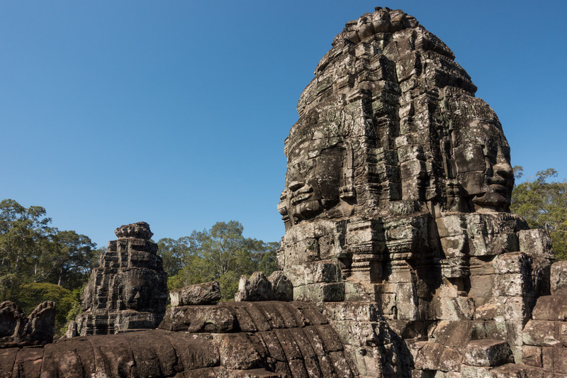 roof line of Bayon, 2