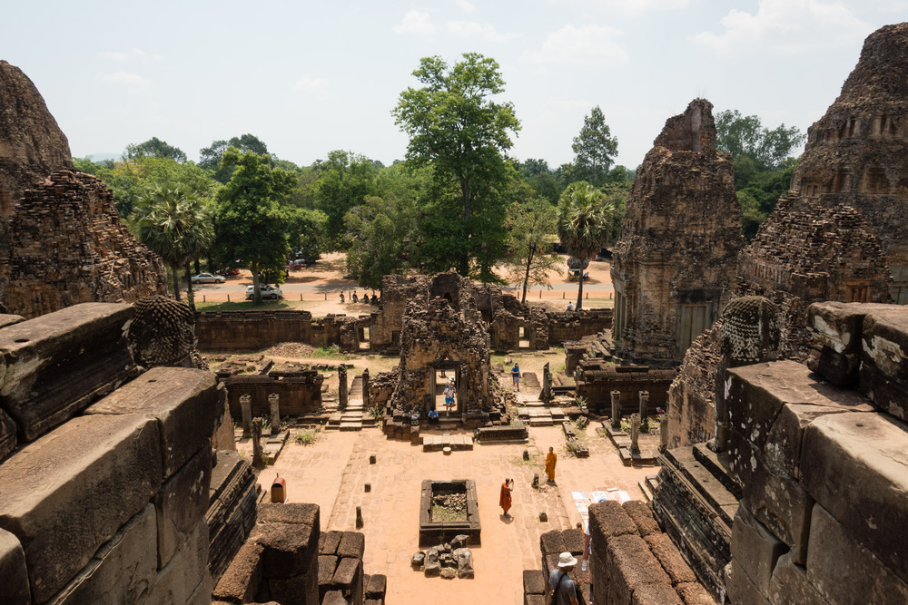view from on top of Pre Rup